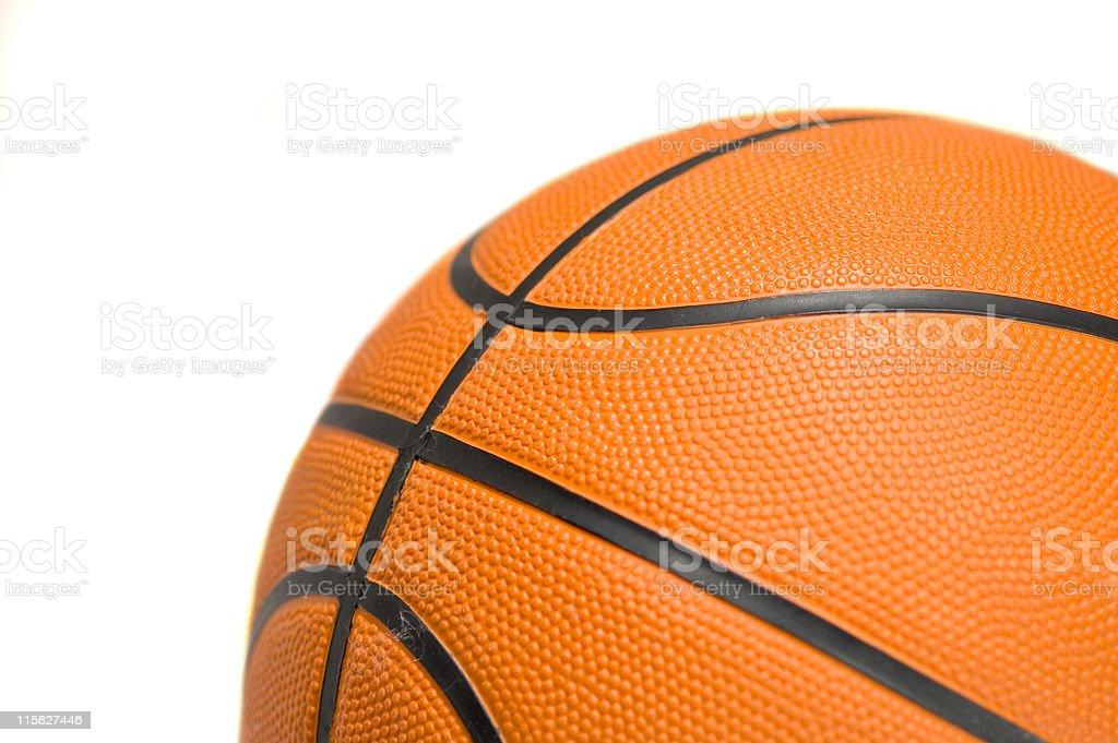 Isolated Basketball royalty-free stock photo