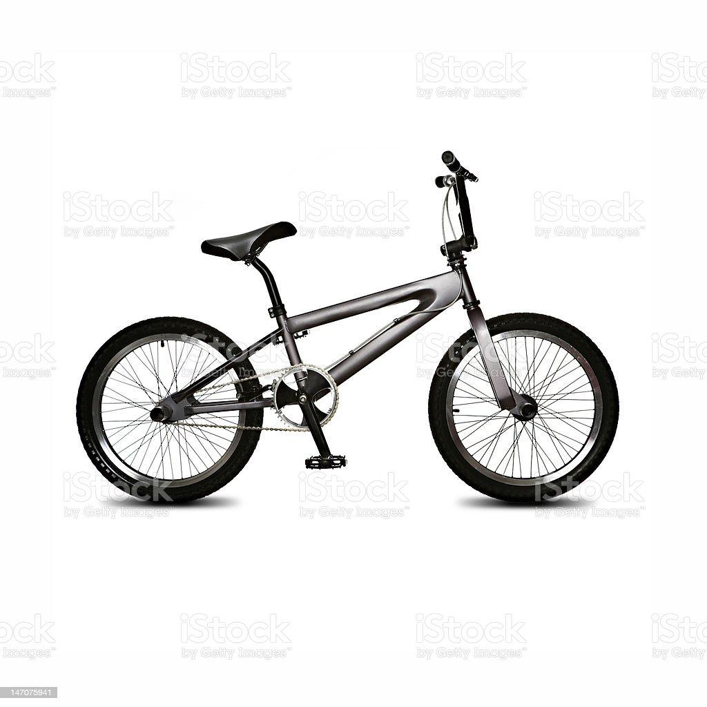 isolated bicycle stock photo