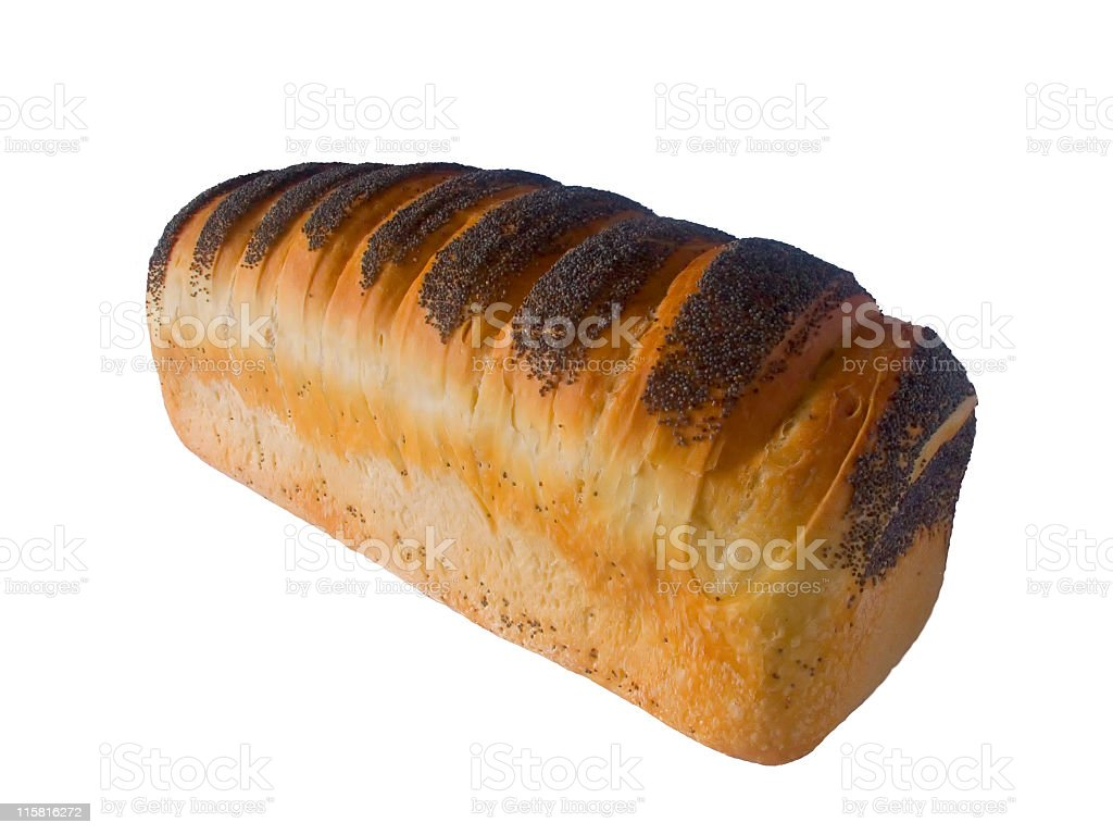 Isolated bread royalty-free stock photo