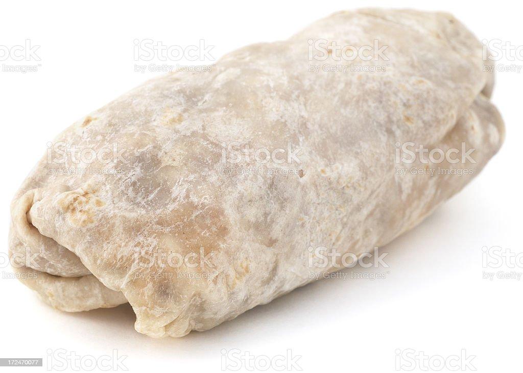 Isolated Burrito stock photo