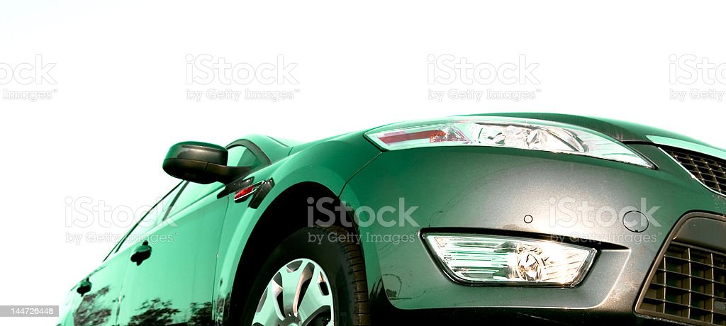 Isolated car royalty-free stock photo