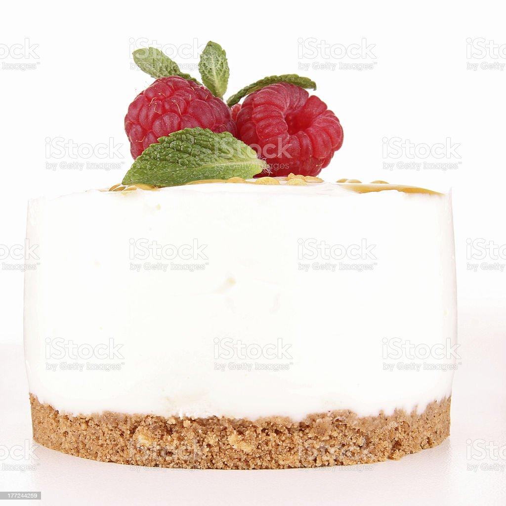 isolated cheesecake stock photo
