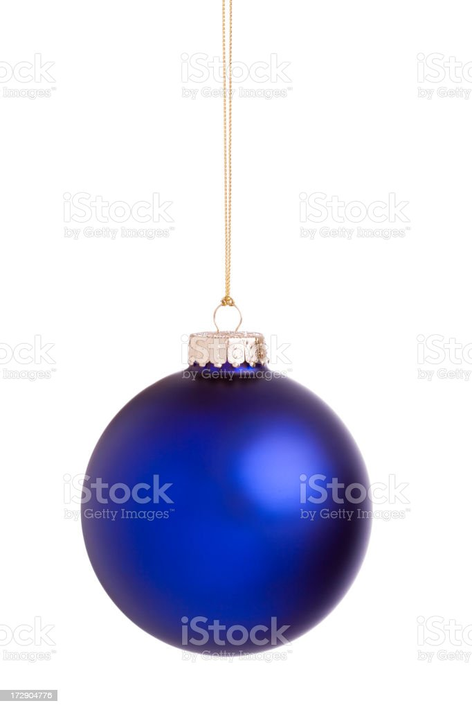 Isolated Christmas Ball (XXL) royalty-free stock photo