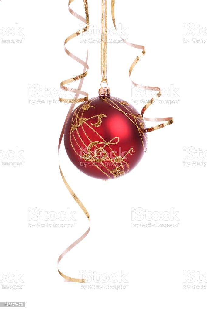 Isolated Christmas Balls (XXL) stock photo
