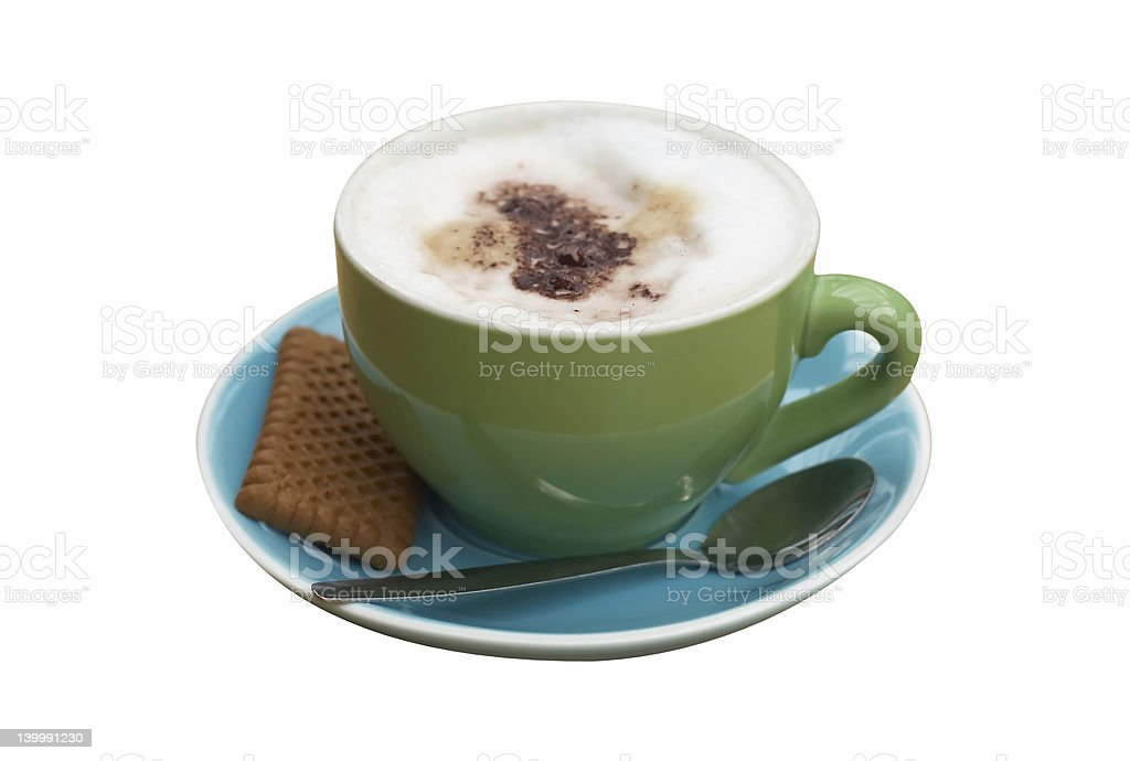 isolated coffee royalty-free stock photo
