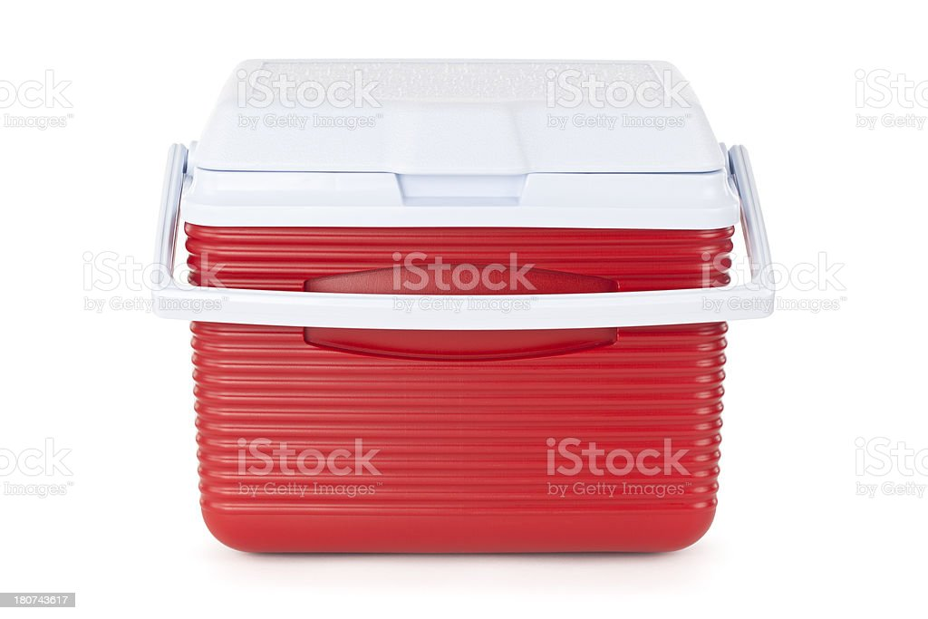 Isolated Cooler stock photo