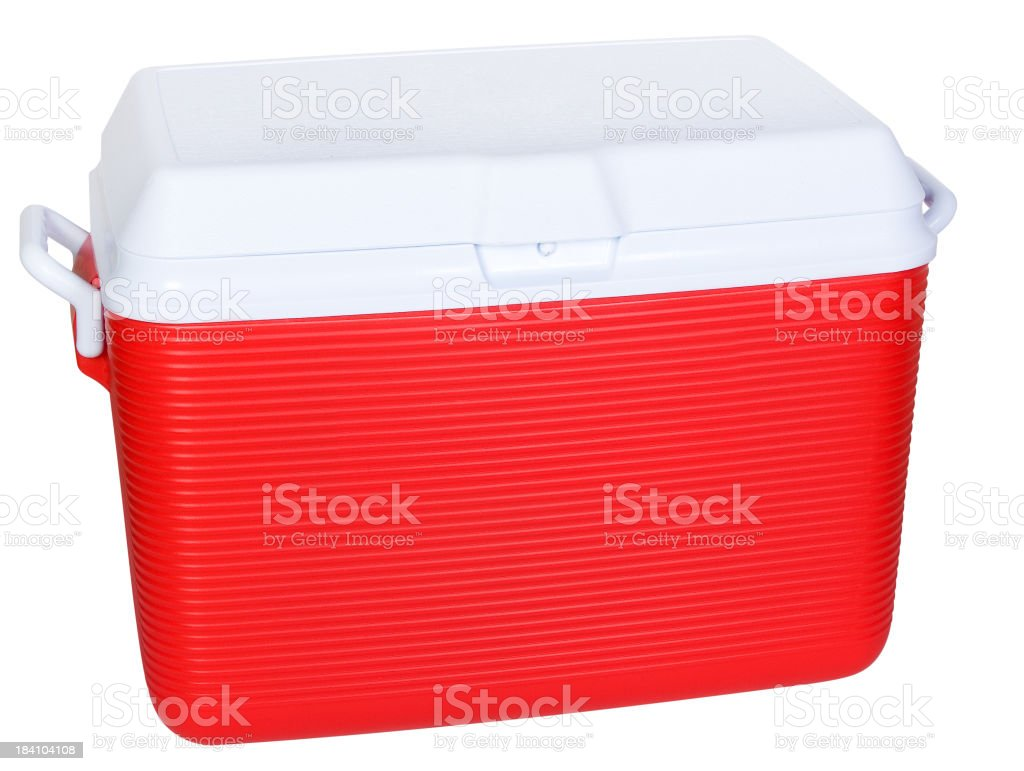 Isolated Cooler royalty-free stock photo