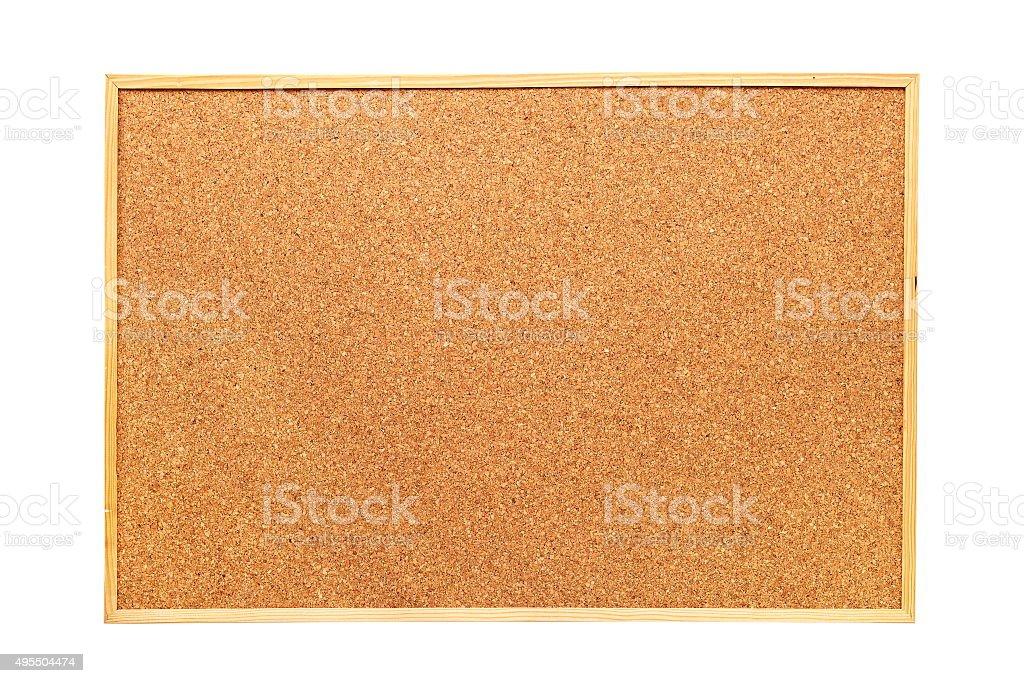 isolated cork board stock photo