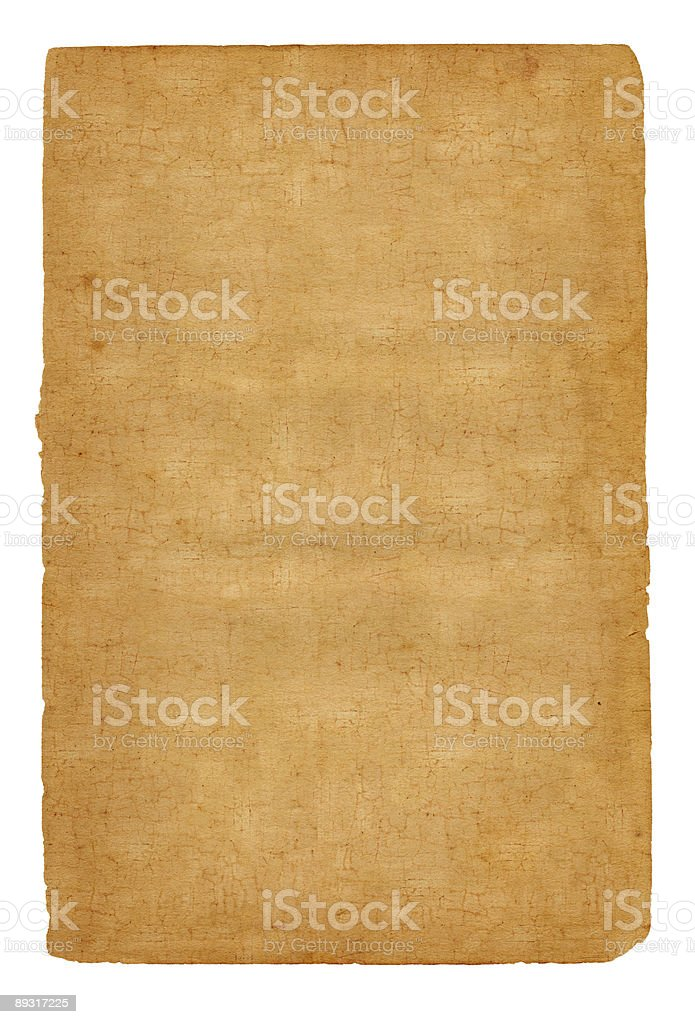 Isolated Cork Paper royalty-free stock photo