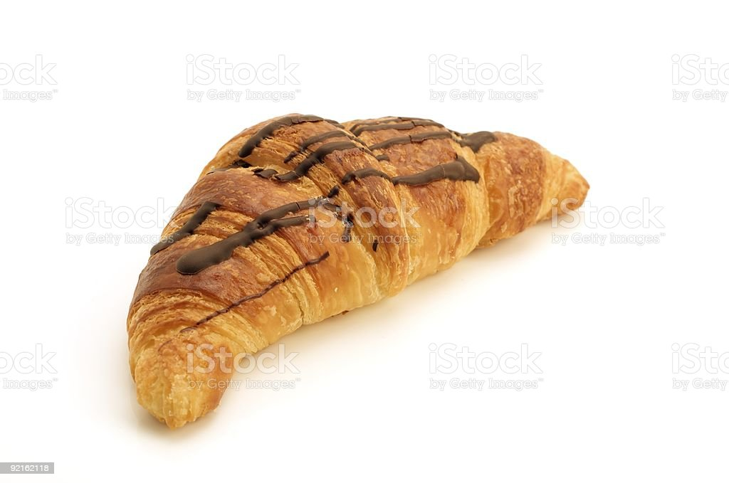 Isolated Croissant stock photo