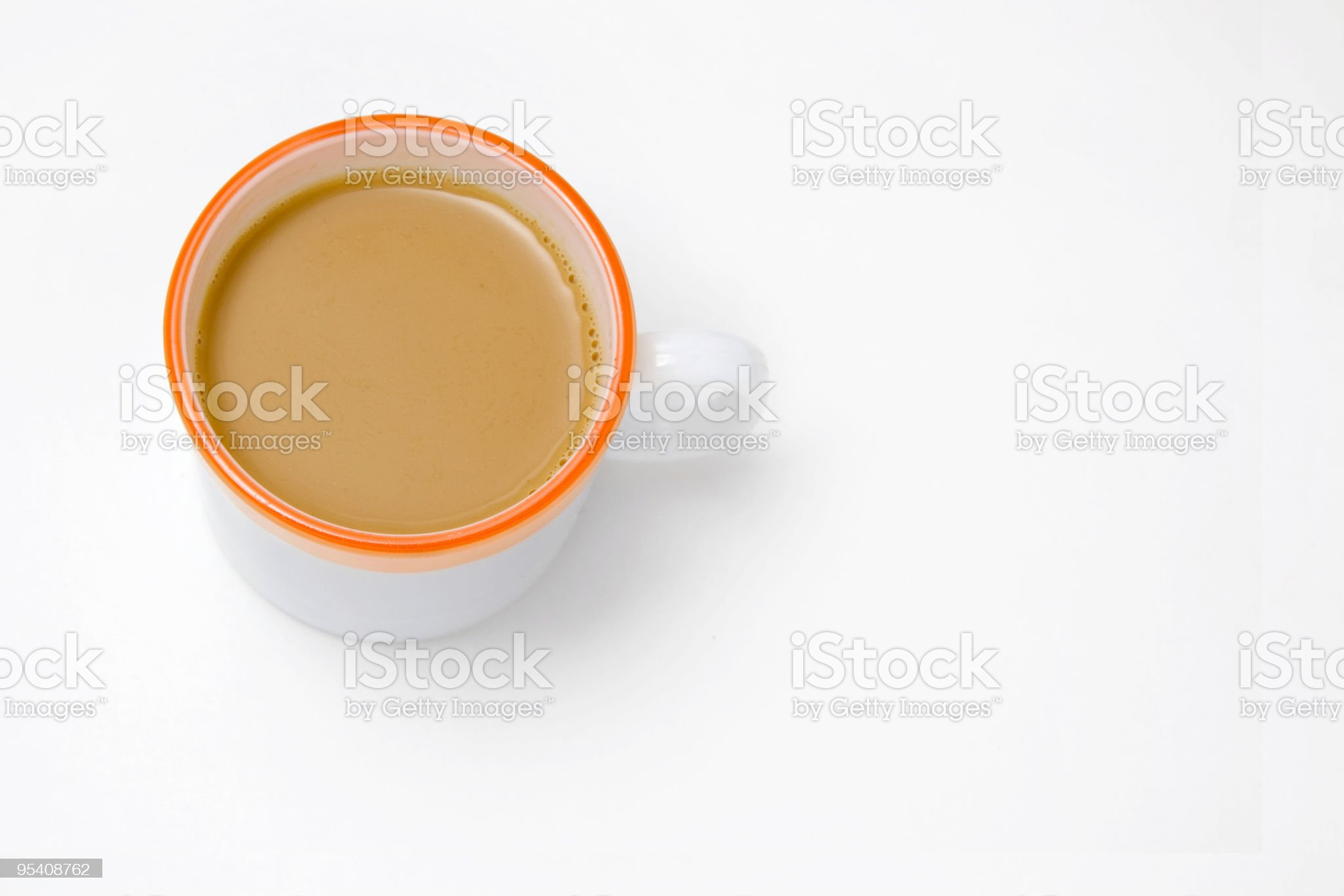 Isolated Cup of Tea royalty-free stock photo