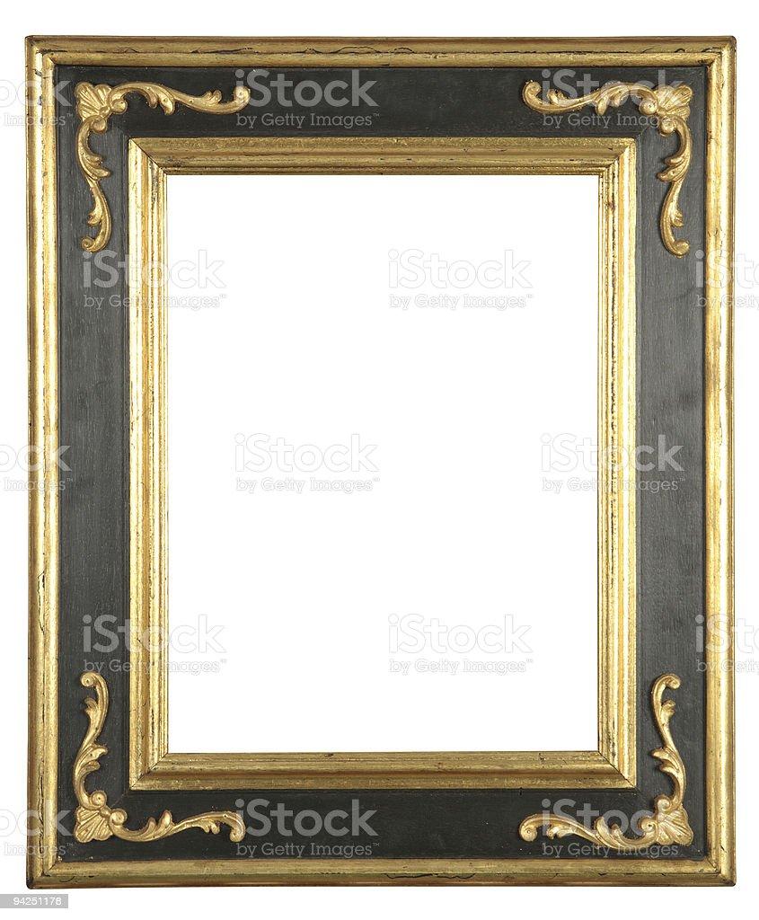 isolated decorative frame stock photo