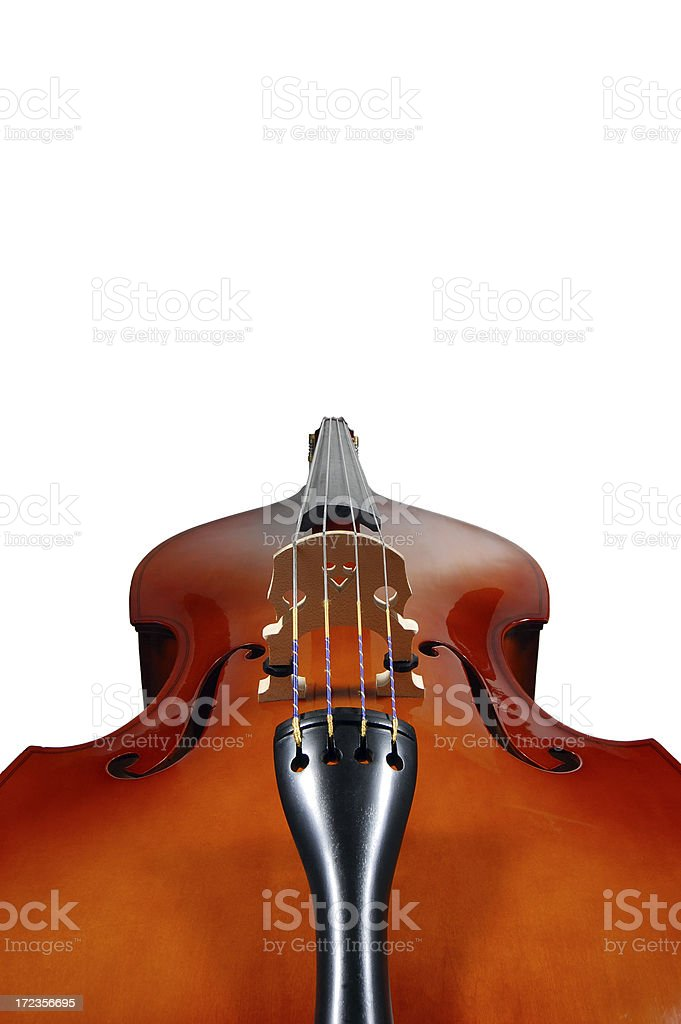 Isolated Double Bass Rocket - Clipping Path royalty-free stock photo