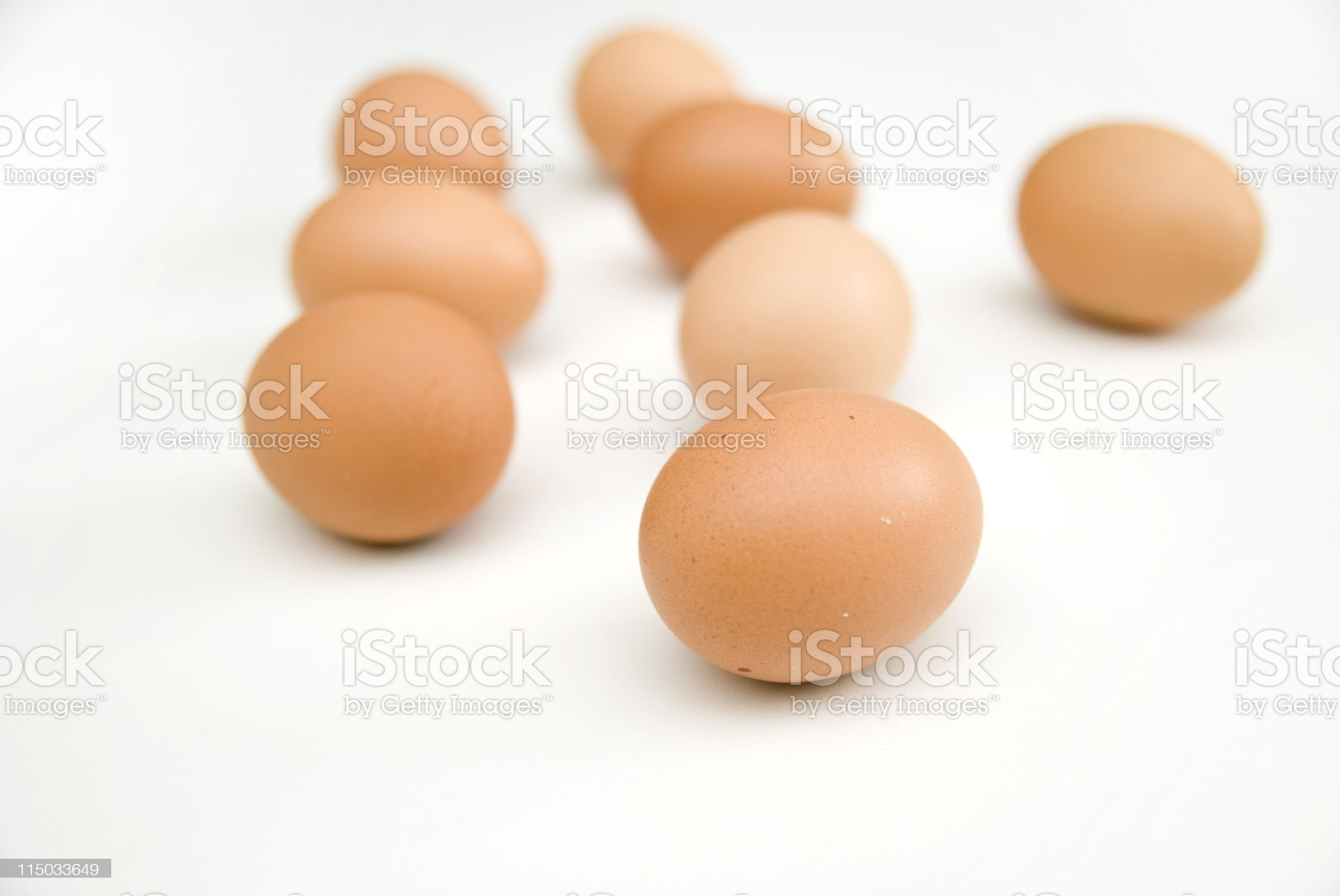 isolated eggs royalty-free stock photo