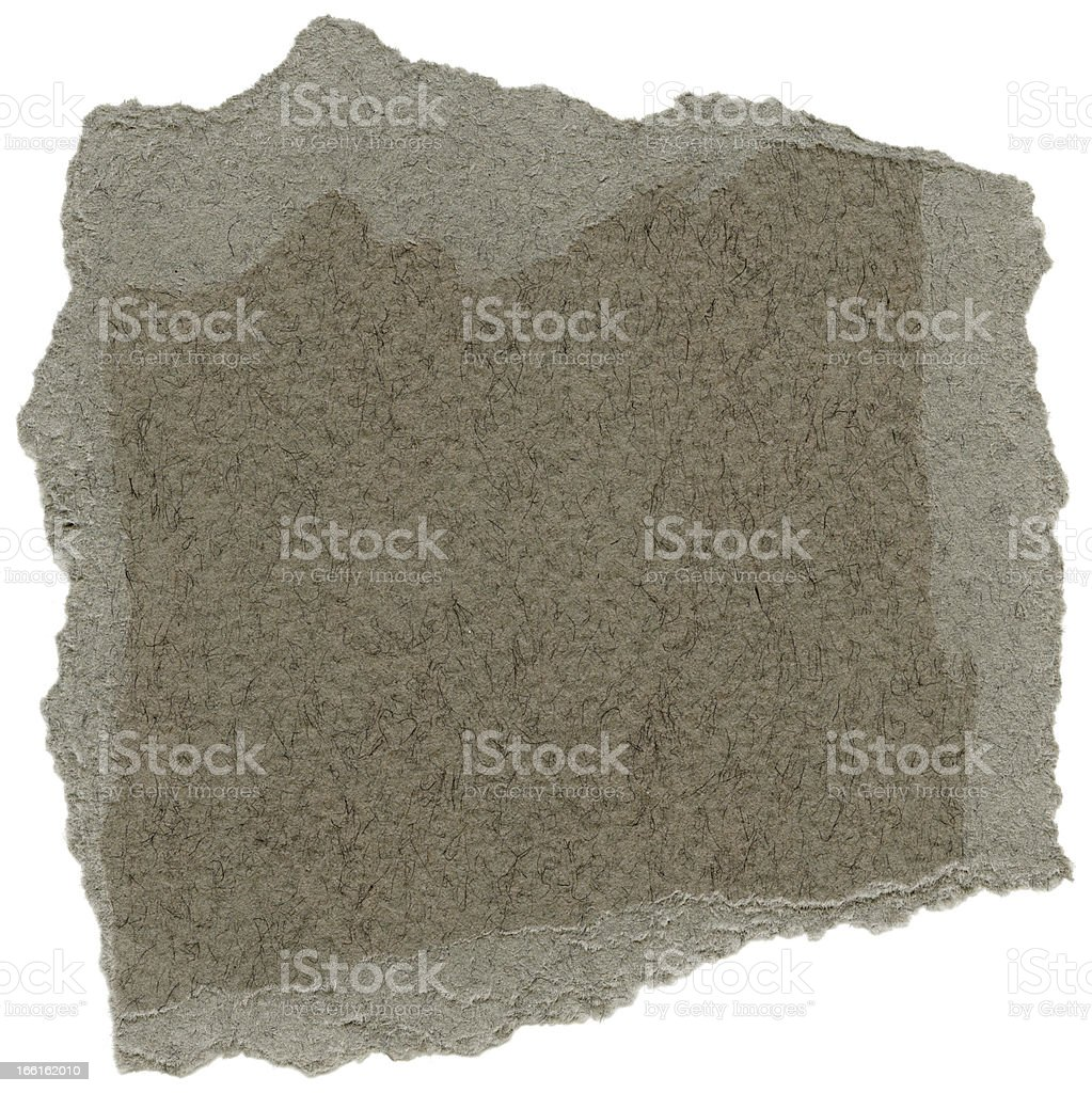 Isolated Fiber Paper Texture - Taupe Gray XXXXL royalty-free stock photo