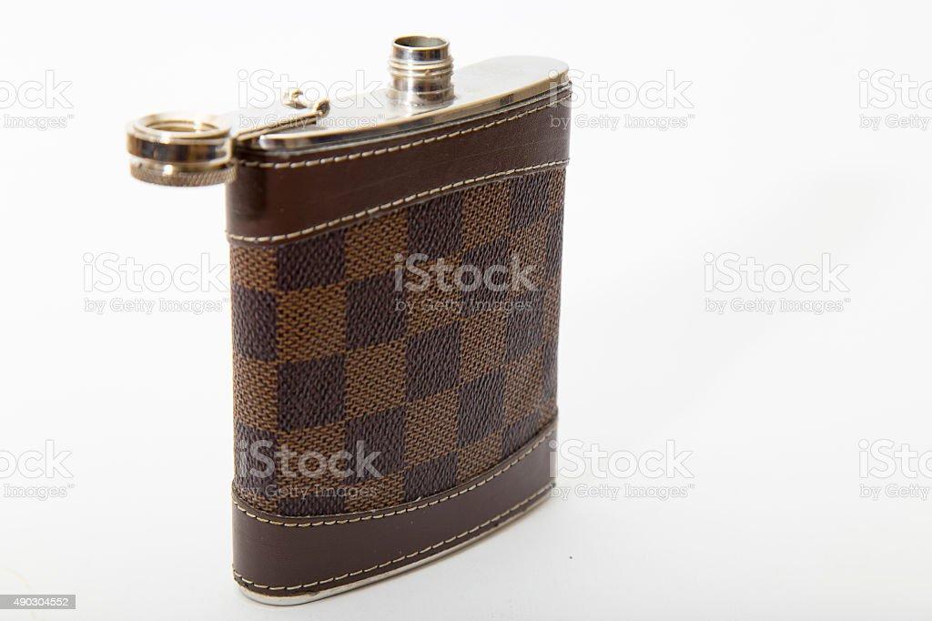 Isolated Flask stock photo