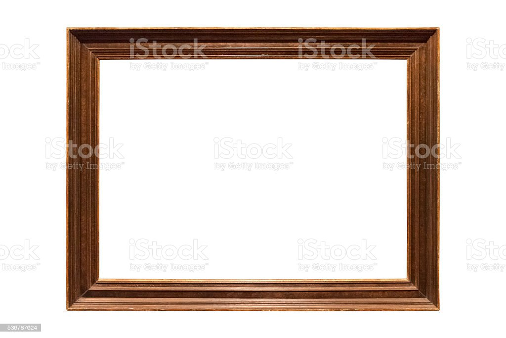 Isolated frame stock photo