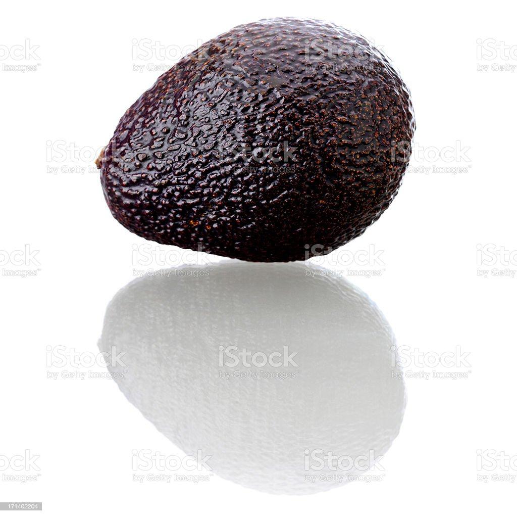 Isolated fruits - Adocado royalty-free stock photo