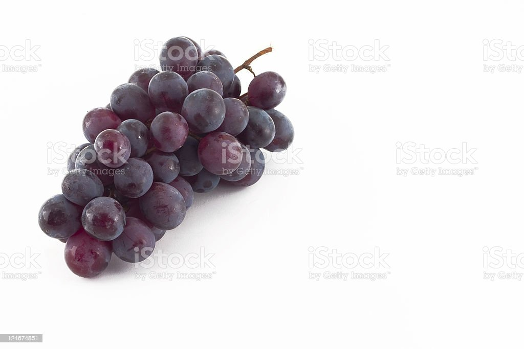 Isolated Grapes royalty-free stock photo