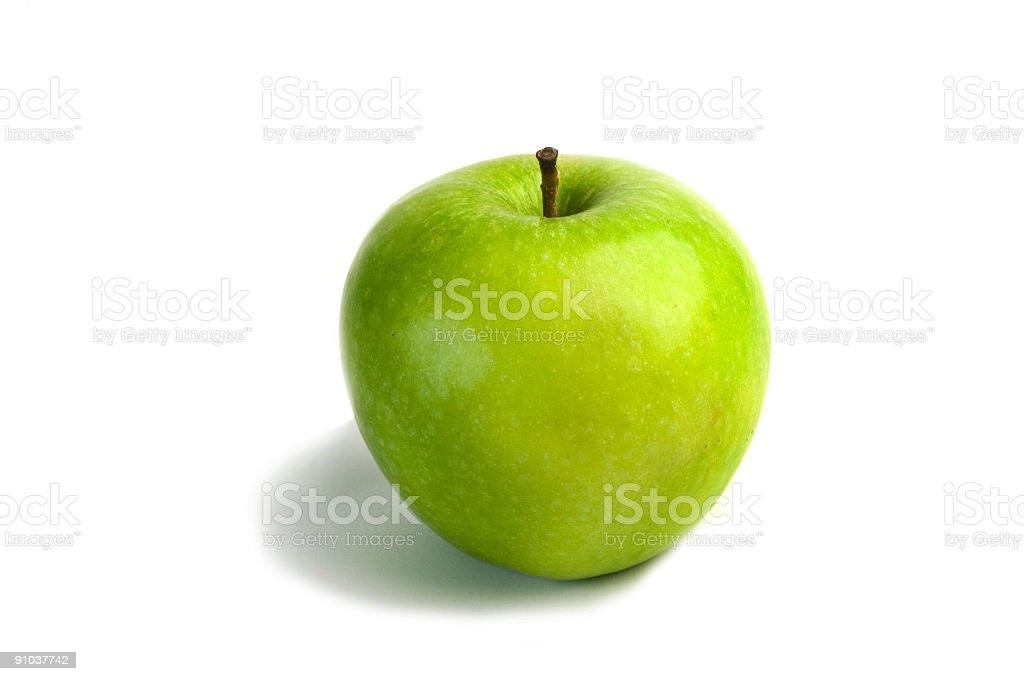 Isolated Green Apple stock photo