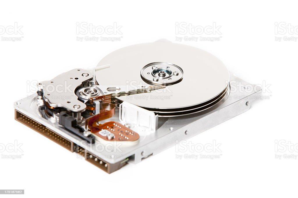 Isolated hard drive XXXL royalty-free stock photo