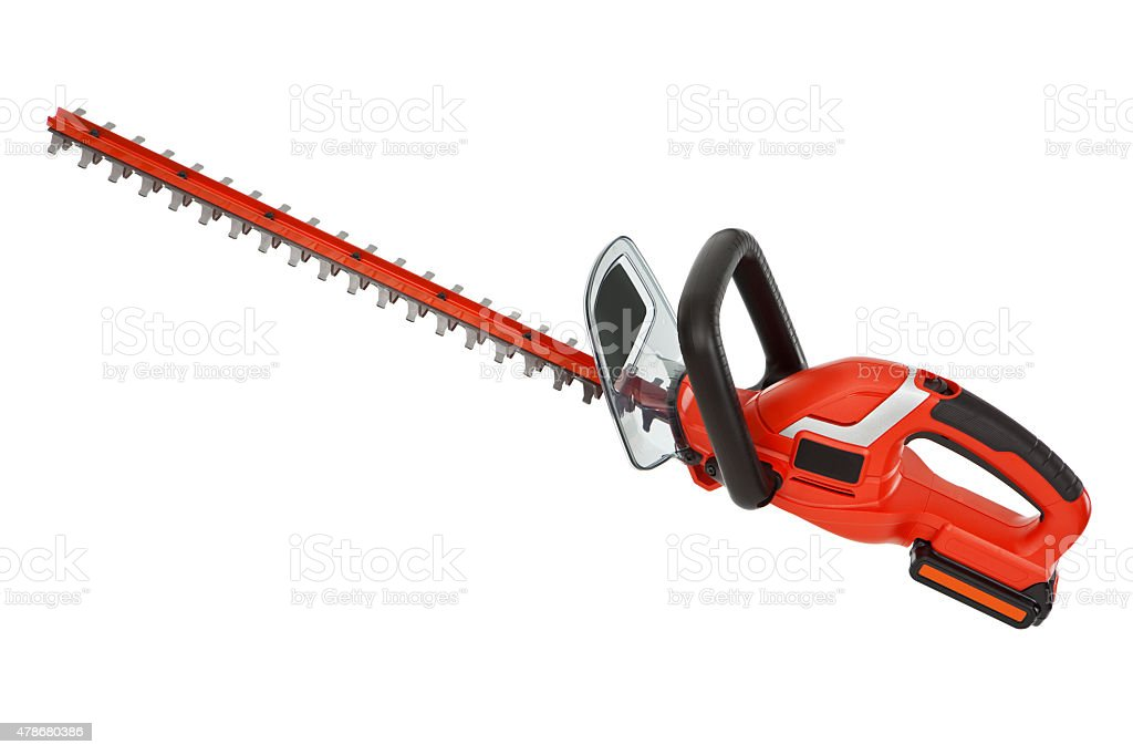 Isolated Hedge Trimmer stock photo