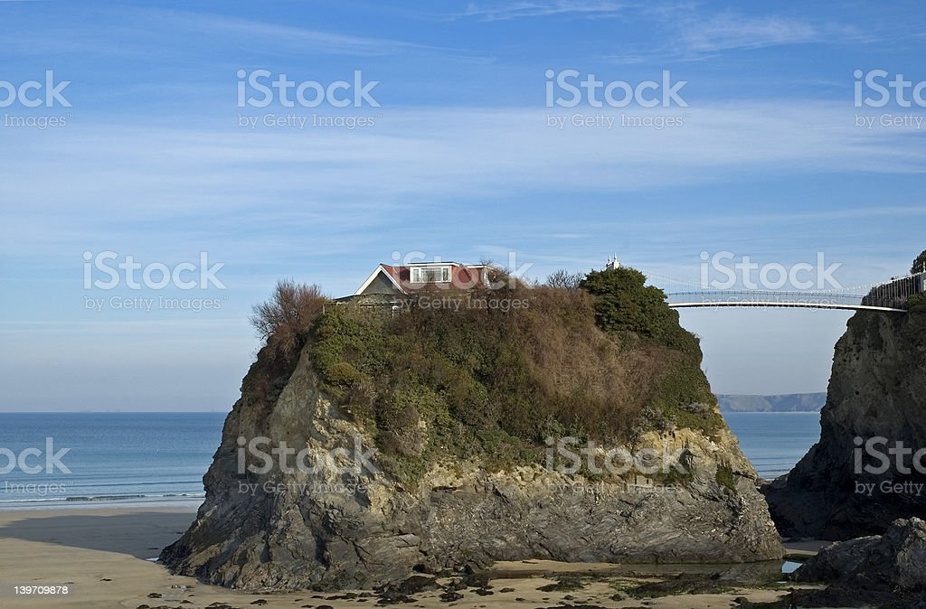 Isolated Home royalty-free stock photo
