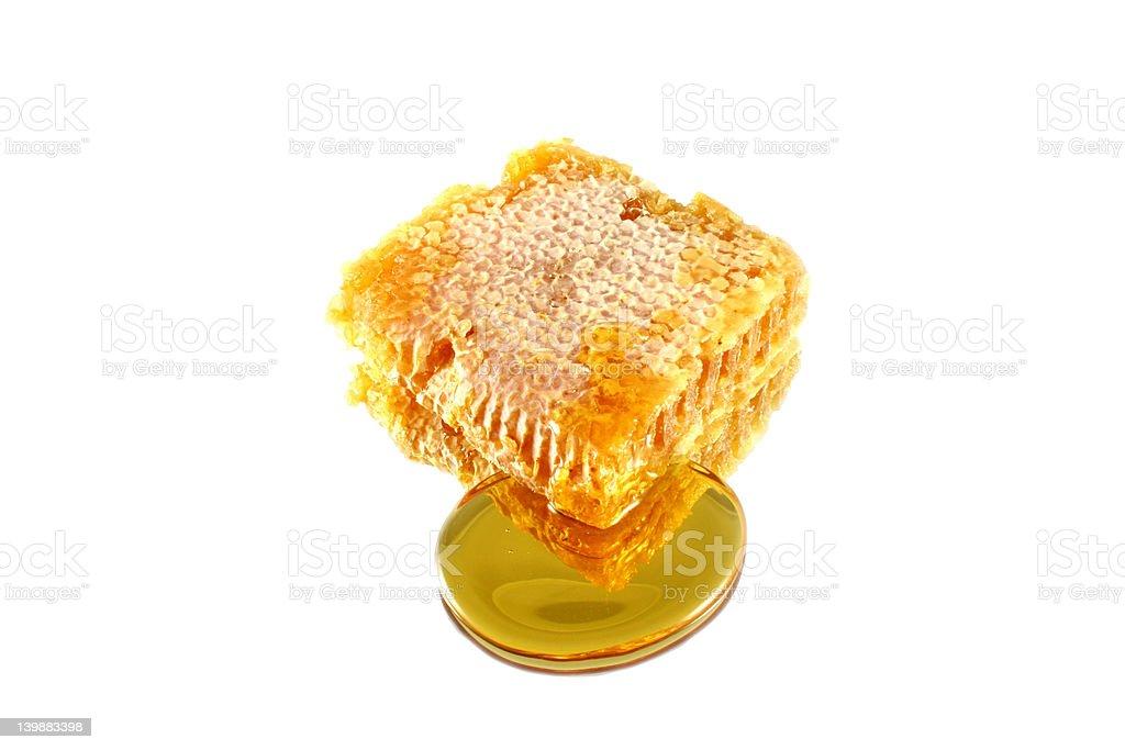 Isolated Honeycomb stock photo