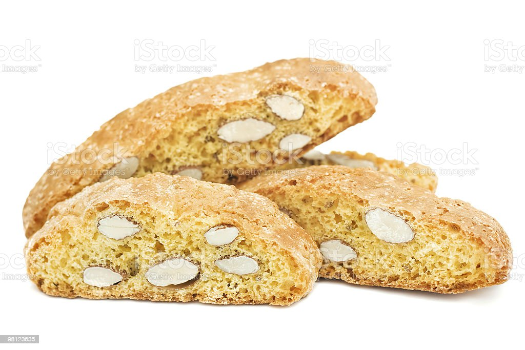 Isolated Italian Cookies royalty-free stock photo