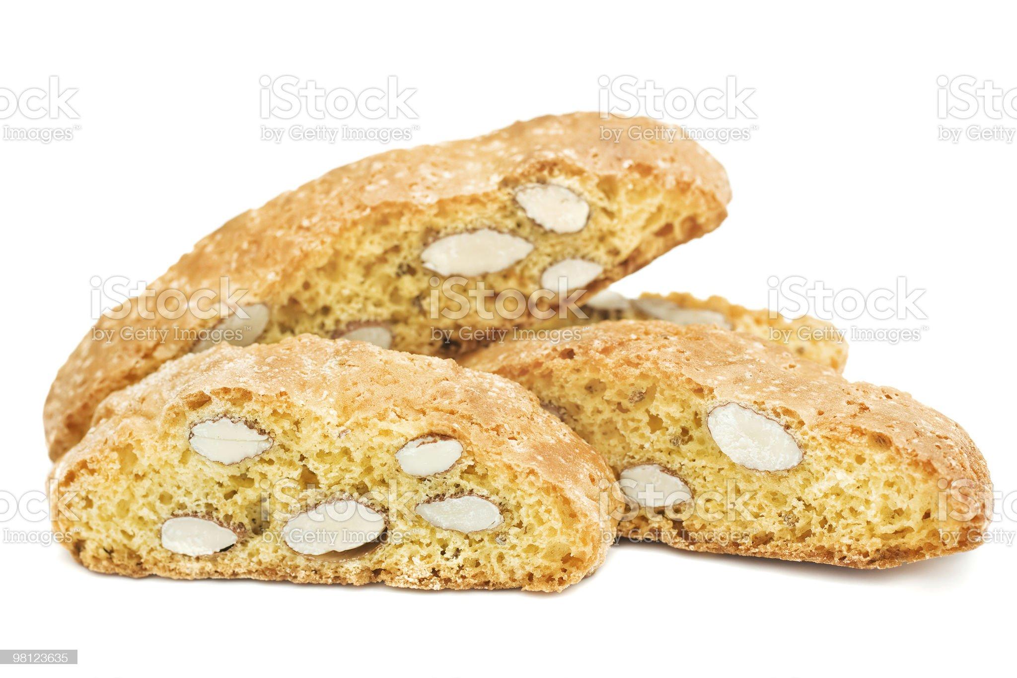Isolated Italian Cookies royalty-free stock photo