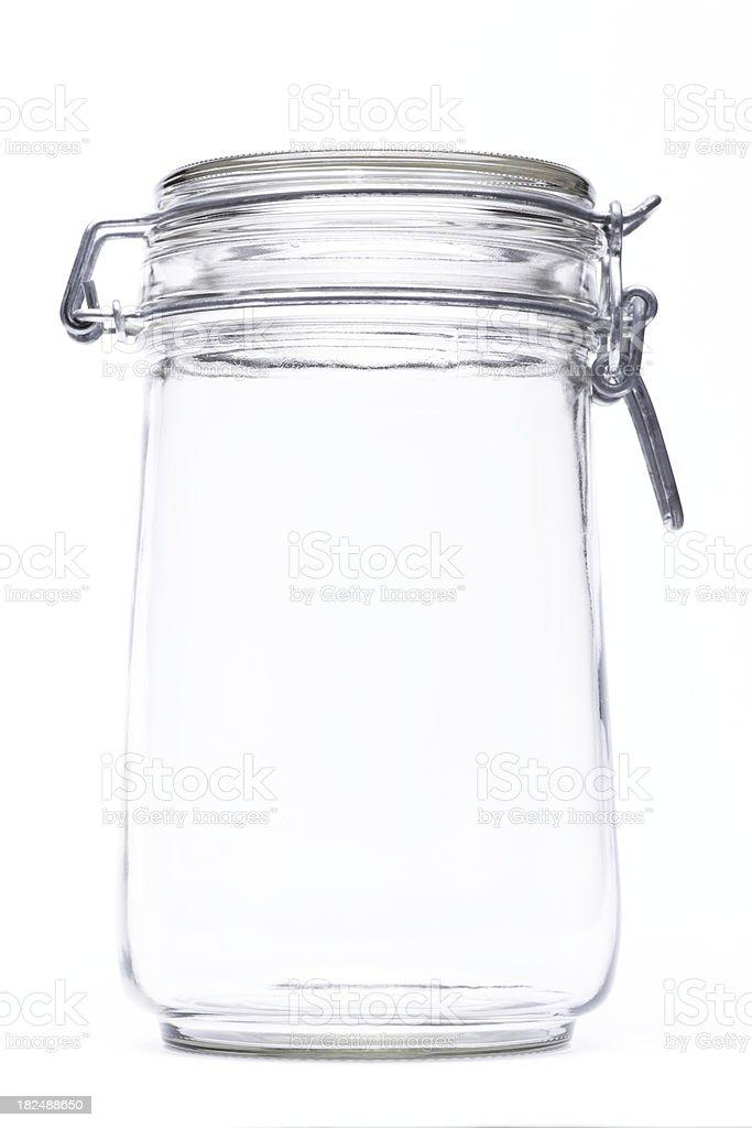 Isolated Jar royalty-free stock photo