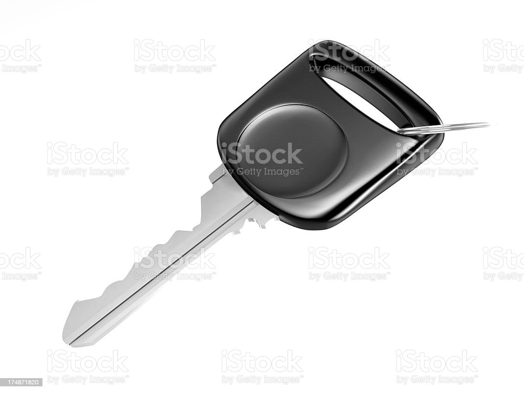 Isolated Key royalty-free stock photo