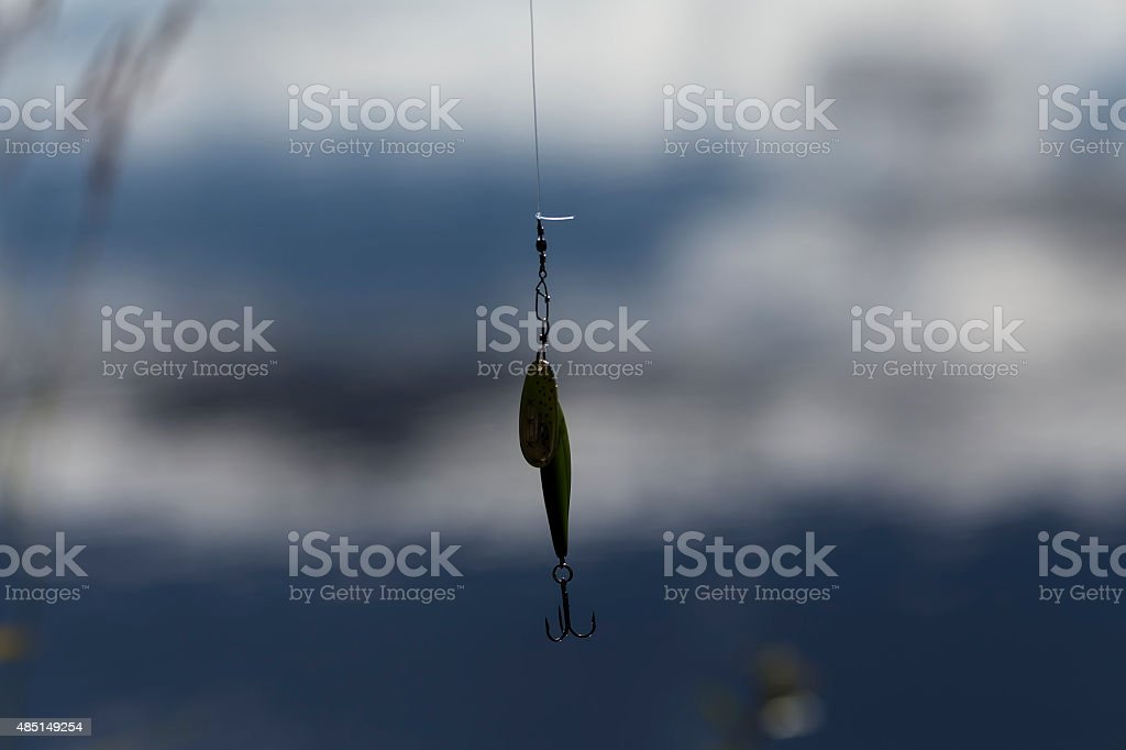 Isolated lure royalty-free stock photo
