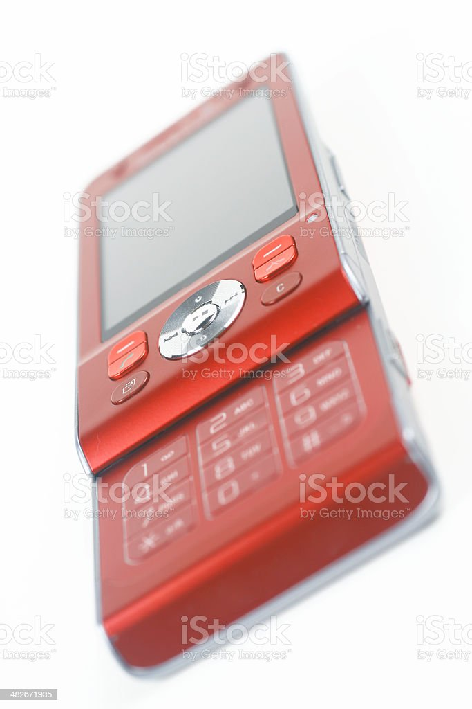 Isolated Mobile Phone royalty-free stock photo