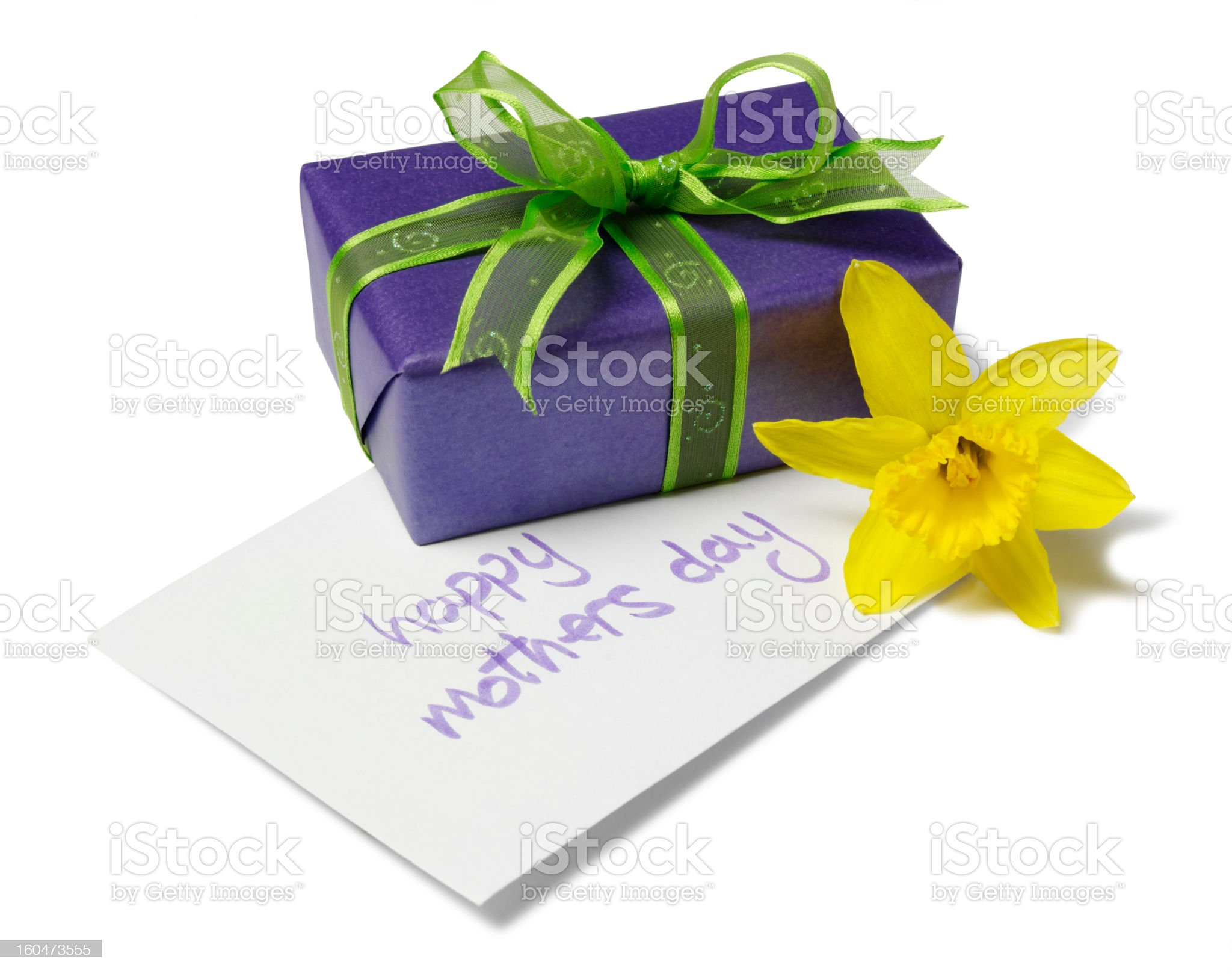 Isolated Mother Day Gift royalty-free stock photo