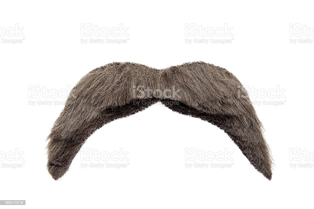 Isolated Mustache royalty-free stock photo