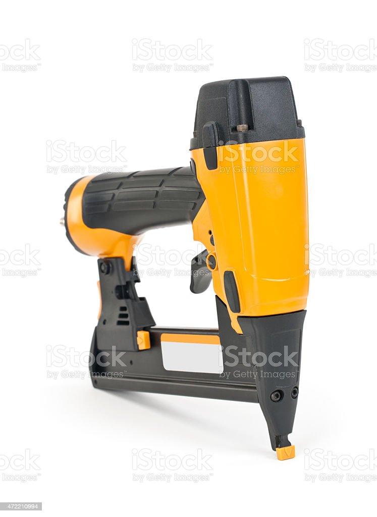 Isolated Nail Gun stock photo