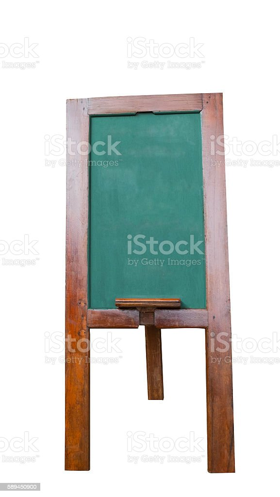 isolated of blackboard Lizenzfreies stock-foto