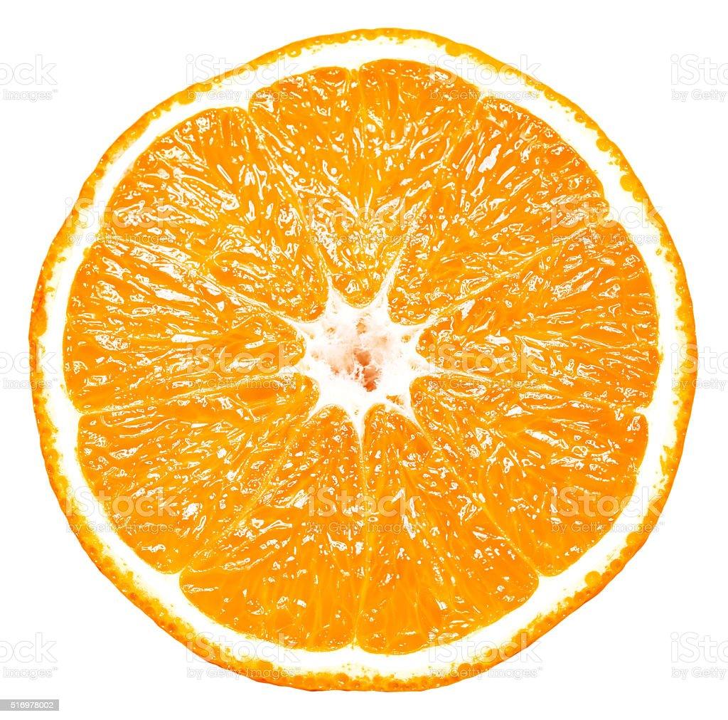 isolated orange stock photo