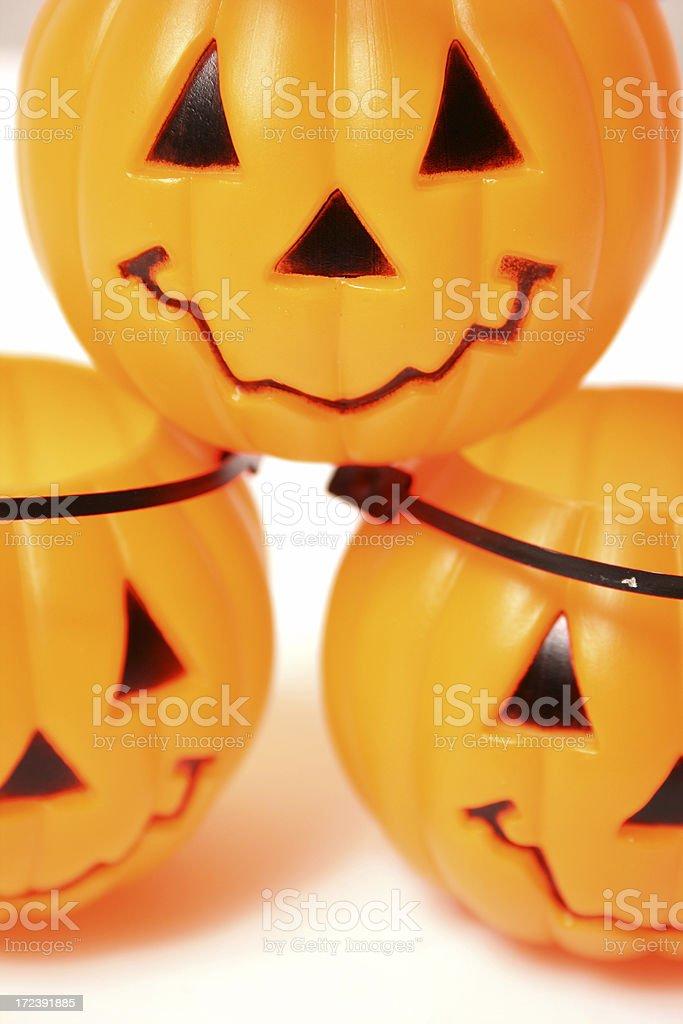 Isolated Orange Pumpkin royalty-free stock photo