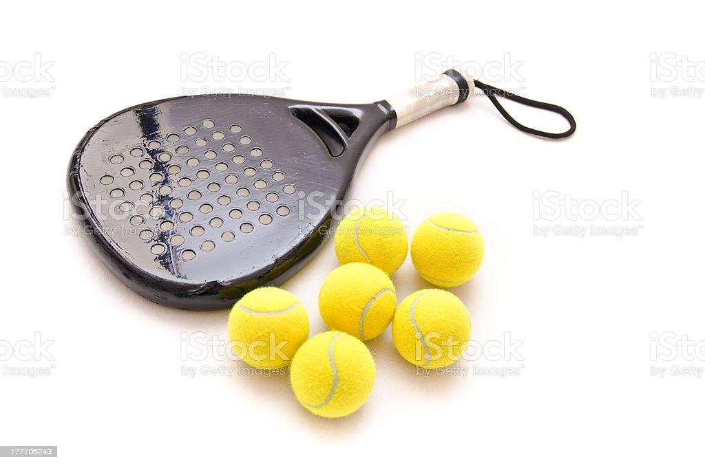 Isolated paddle objects stock photo