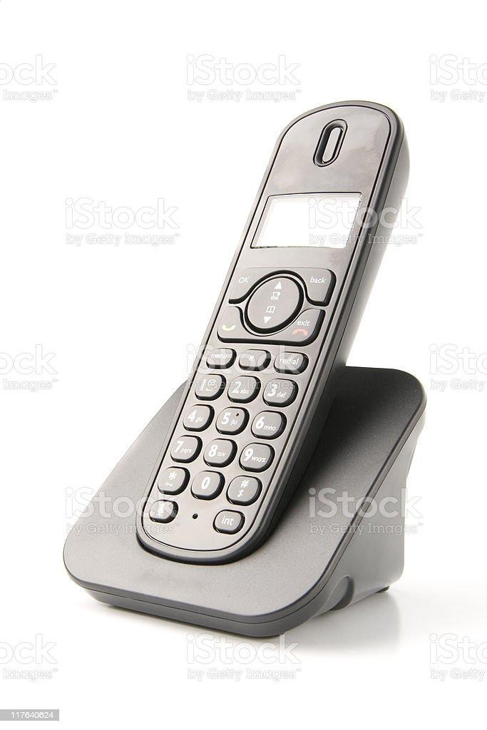 isolated phone stock photo