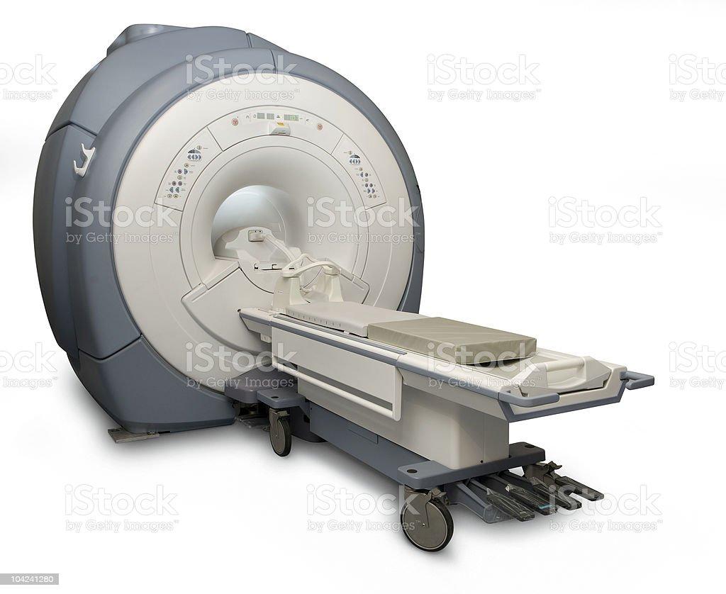 MRI isolated royalty-free stock photo