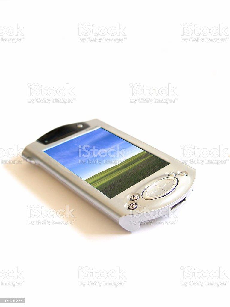 PDA - isolated royalty-free stock photo