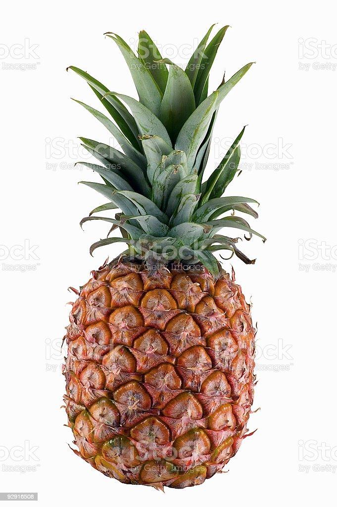 Isolated pineapple stock photo