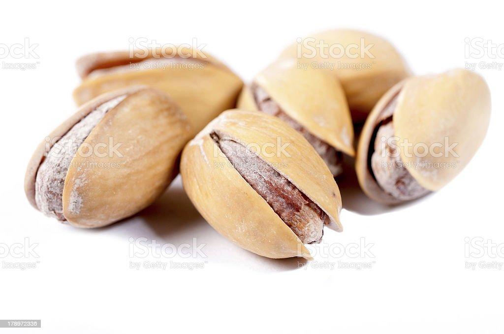 Isolated pistachio royalty-free stock photo