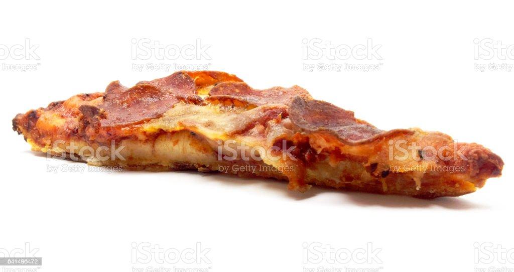 Isolated Pizza Slice stock photo