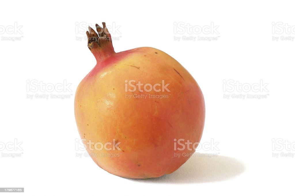 Isolated Pomegranate royalty-free stock photo