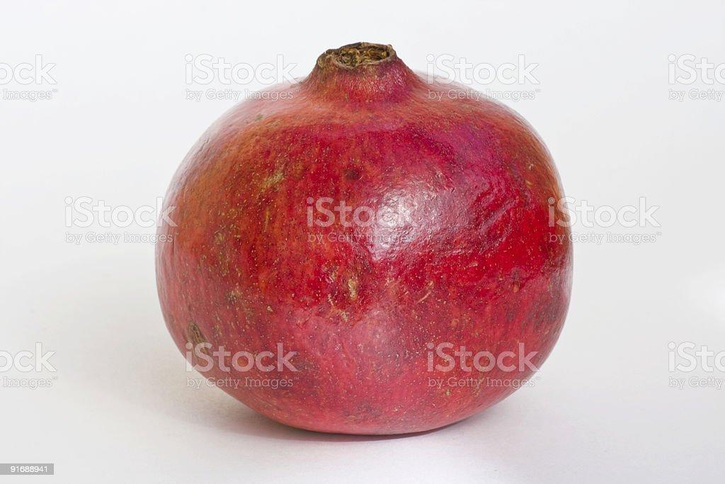 Выделение Гранат-фрукт Стоковые фото Стоковая фотография