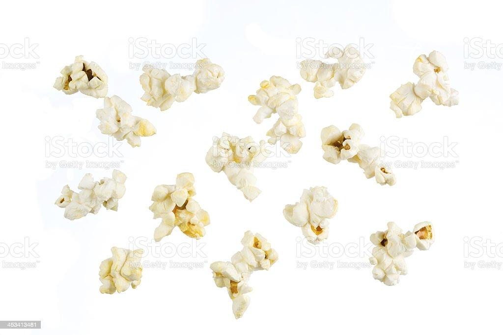 Isolated popcorn stock photo